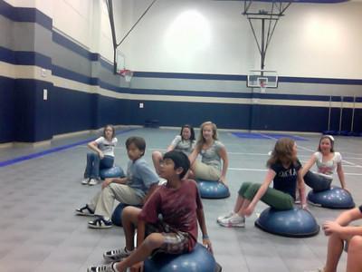 6th Grade Wellness Workout