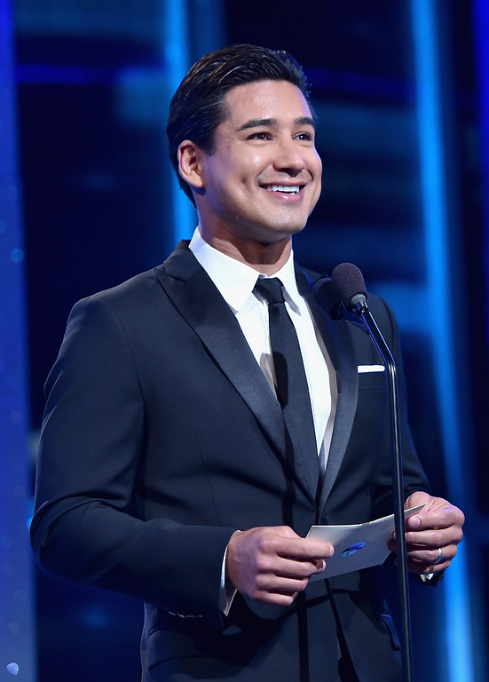 . TV personality Mario Lopez speaks onstage during The 41st Annual Daytime Emmy Awards at The Beverly Hilton Hotel on June 22, 2014 in Beverly Hills, California.  (Photo by Alberto E. Rodriguez/Getty Images for NATAS)