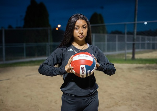 Abby's Volleyball Session