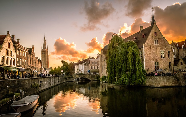 Amsterdam and Bruges