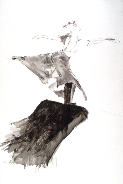 Study for 'The Dancer With Red Hair' (1990)