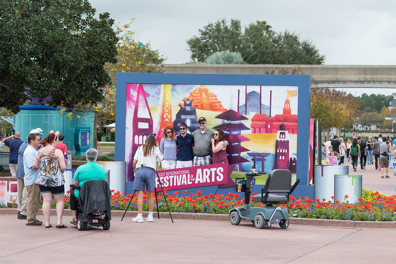 Photo Ops - Epcot International Festival of the Arts 2017