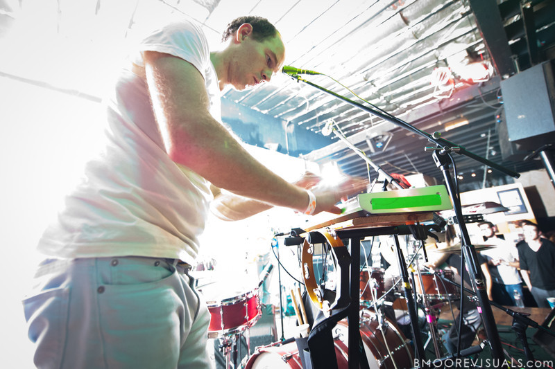 """Dan Snaith of Caribou performs on October 17, 2010 in support of """"Swim"""" at Crowbar in Ybor City, Tampa, Florida"""