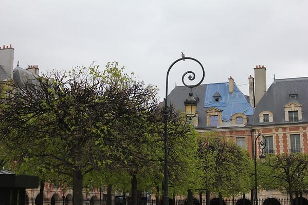 Paris April 9