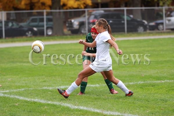 10-18-14 SPORTS DIII Girls Soccer Sectional Championship @ Archbold  Archbold vs Oak Harbor