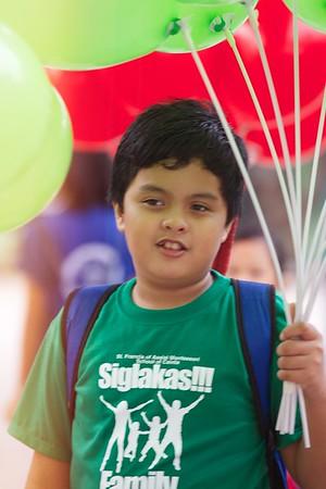SIGLAKAS Parade and Cheer 2013-2014