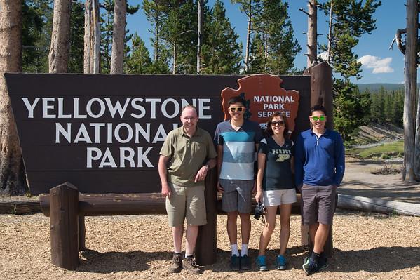 Yellowstone People Pics