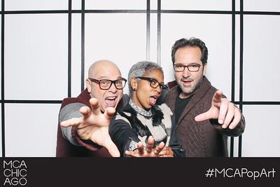 mca pop art members' & circle preview