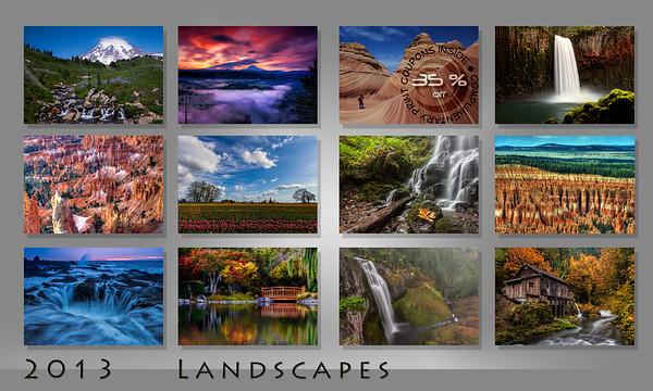2013 Landscapes Calendar