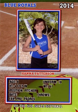 2014 Hanna Baseball Card