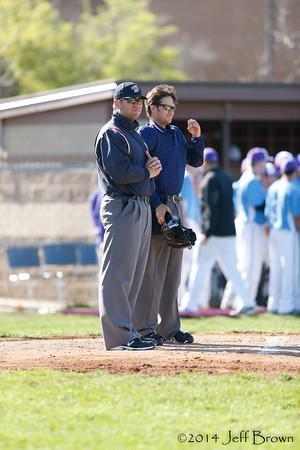 HSE vs BBurg Baseball 4-25-14