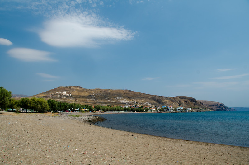 Tavari Beach, Lesvos, Greece