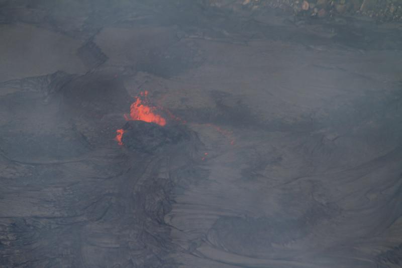 Active lava at Kilauea