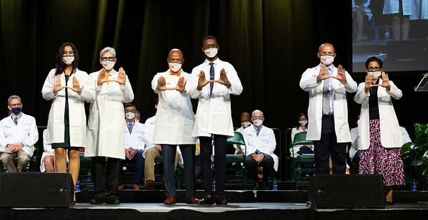 White Coat Presentation-First Six Societies
