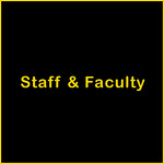 Staff & Faculty