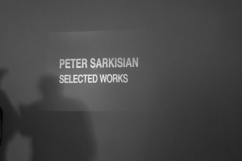 TAMU-CC Center for Arts held a gallery to display art work from Peter Sarkisian.