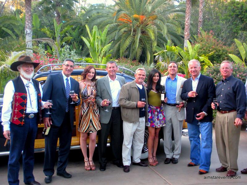 The Rancho Santa Fe Cohibas & the lovely ATeam hostesses.