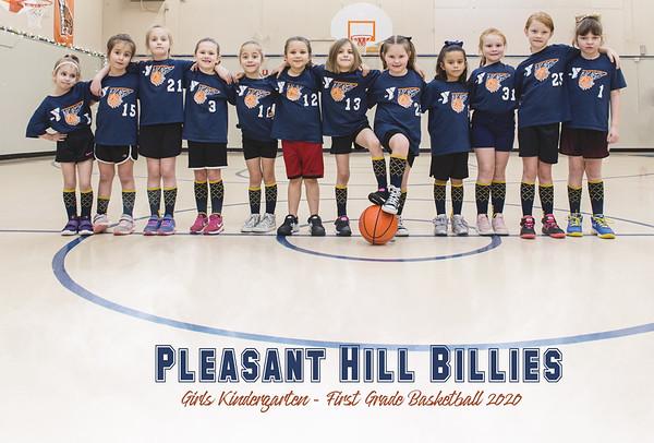 Pleasant Hill Billies Girls K-1st Grade