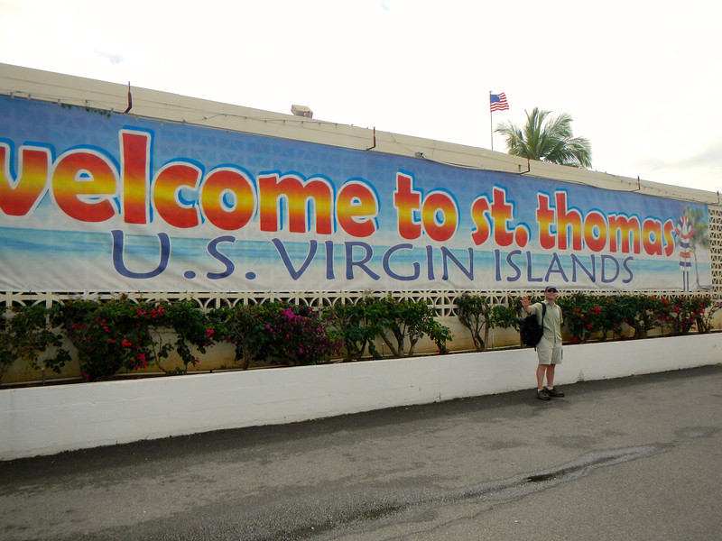 Arrival in Charlotte Amalie, St. Thomas