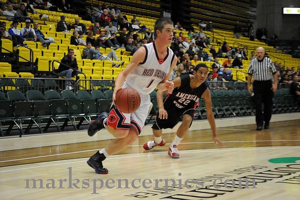Basketball SVV vs AFHS 11-24-2010