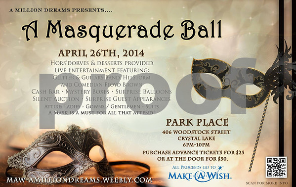 Make A Wish Masquerade Ball 2014