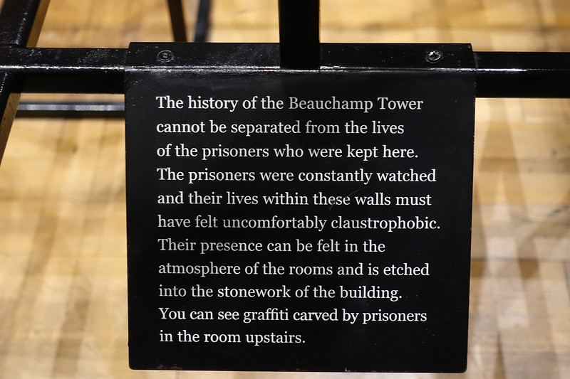 Tower of London, Beauchamp Tower