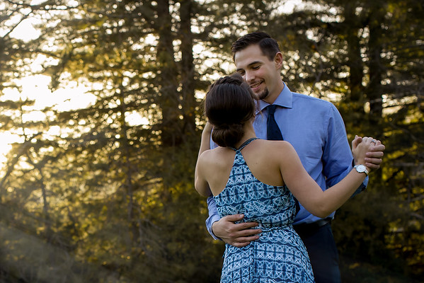 Michelle and Chris | Engagement Photos | Henry Cowell
