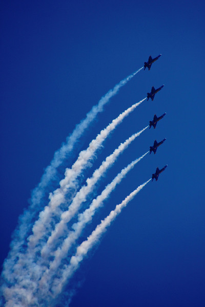 Air Show - Blue Angels - in Seattle