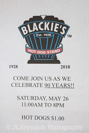 Blackie's 90th Anniversary