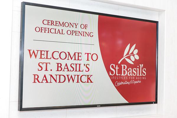 St Basils Nursing Home Opening 2017