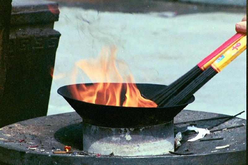 Burning Incense