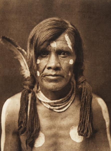 "Mowa - ""Shining Light"" - Nambe (The North American Indian, v. XVII. Norwood, MA, The Plimpton Press,  1926)"