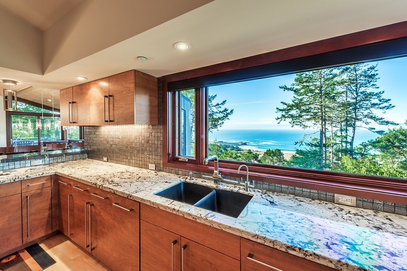 Kitchen View of Black Point