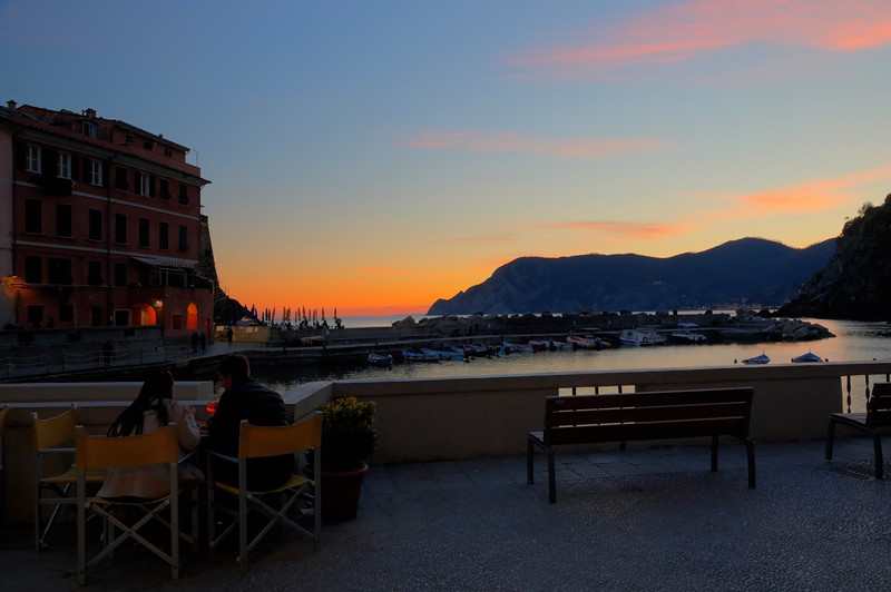 Sunset in Vernazza