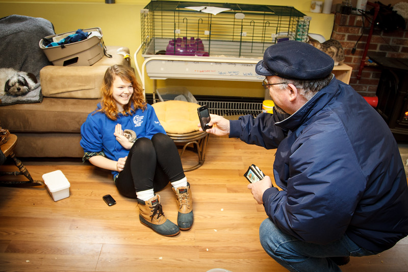 Open House (02/23/2013) One of our largest open houses ever! We had a house full of excited fans who wanted to beat tomorrow's storm and see the hedgies. Lots of new friends came to learn and lots of babies went home!