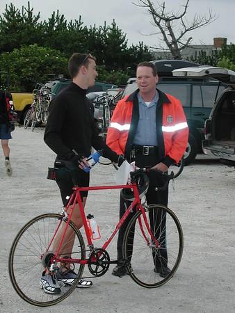 Bike Race Across Nantucket -- 12 August 2000