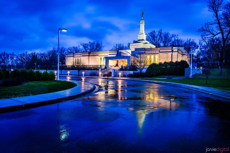 St Paul Temple Rainy Road