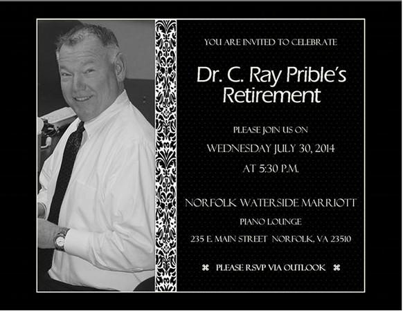 Ray Prible Retirement Celebratio0n