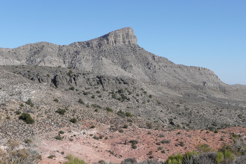 Keystone Thrust Trail. Red Rock Canyon