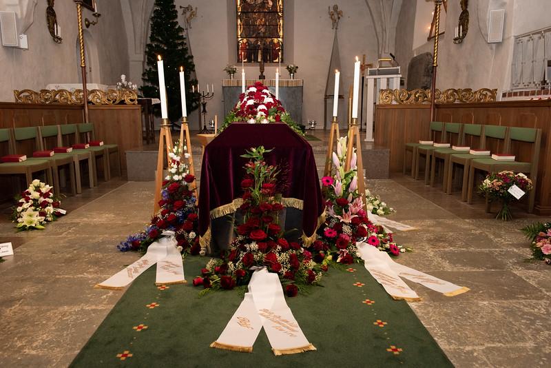 Kerstin Bodins begravning