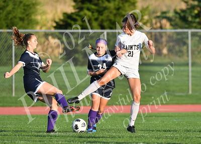 Berks Catholic vs Kutztown Girls JV Soccer 21 - 22