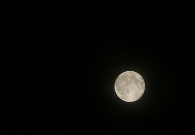 That Moon was out last night Again