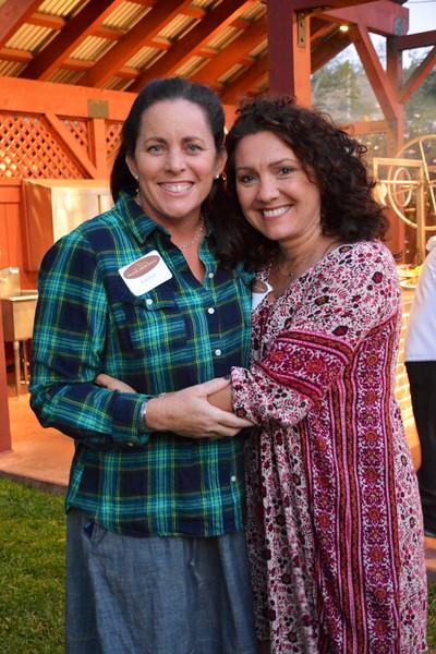 Beth Silver and Betty Lituario