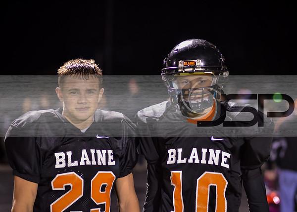 2013-9-27 Bellingham at Blaine Varsity FB