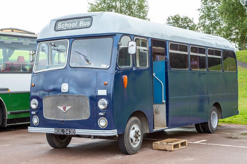 1966 Bedford VAS2 Duple (Midland) B30F