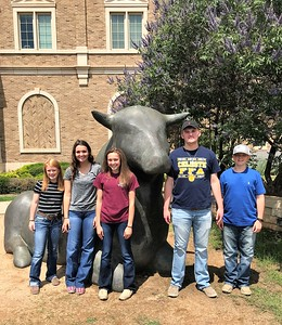 Texas Tech Livestock Judging Camp