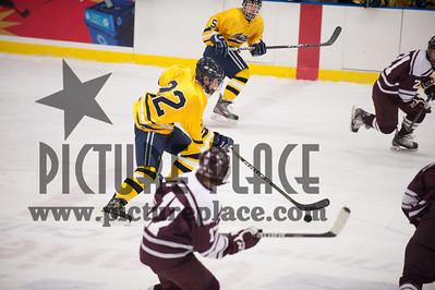 MHS Boys Hockey Action Vs. SSP #2