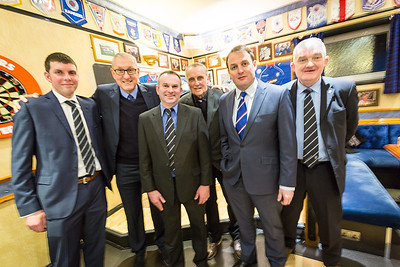 A Night With Terry Butcher at The Lewis and Harris Rangers Supporters Club