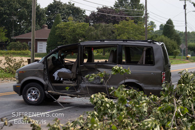 07-01-2012, MVC With Entrapment, Vineland City, Cumberland County, E. Chestnut Ave and S. Lincoln Ave.