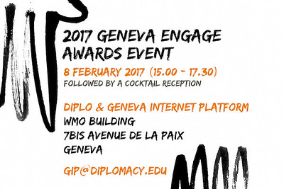 Geneva Engage Awards, Feb 2017